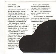 (EZ531) Owen Pallett, Song For Five & Six - 2014 DJ CD