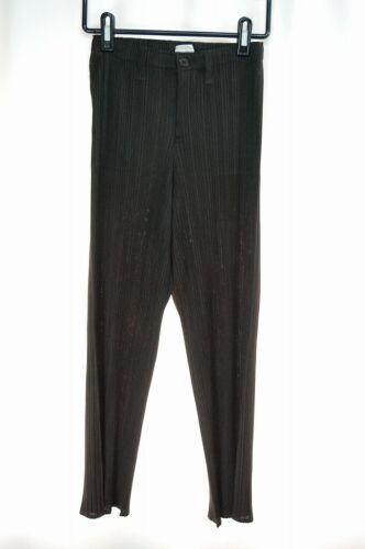 PLEATS PLEASE Dark Brown Pants ISSEY MIYAKE 290 29