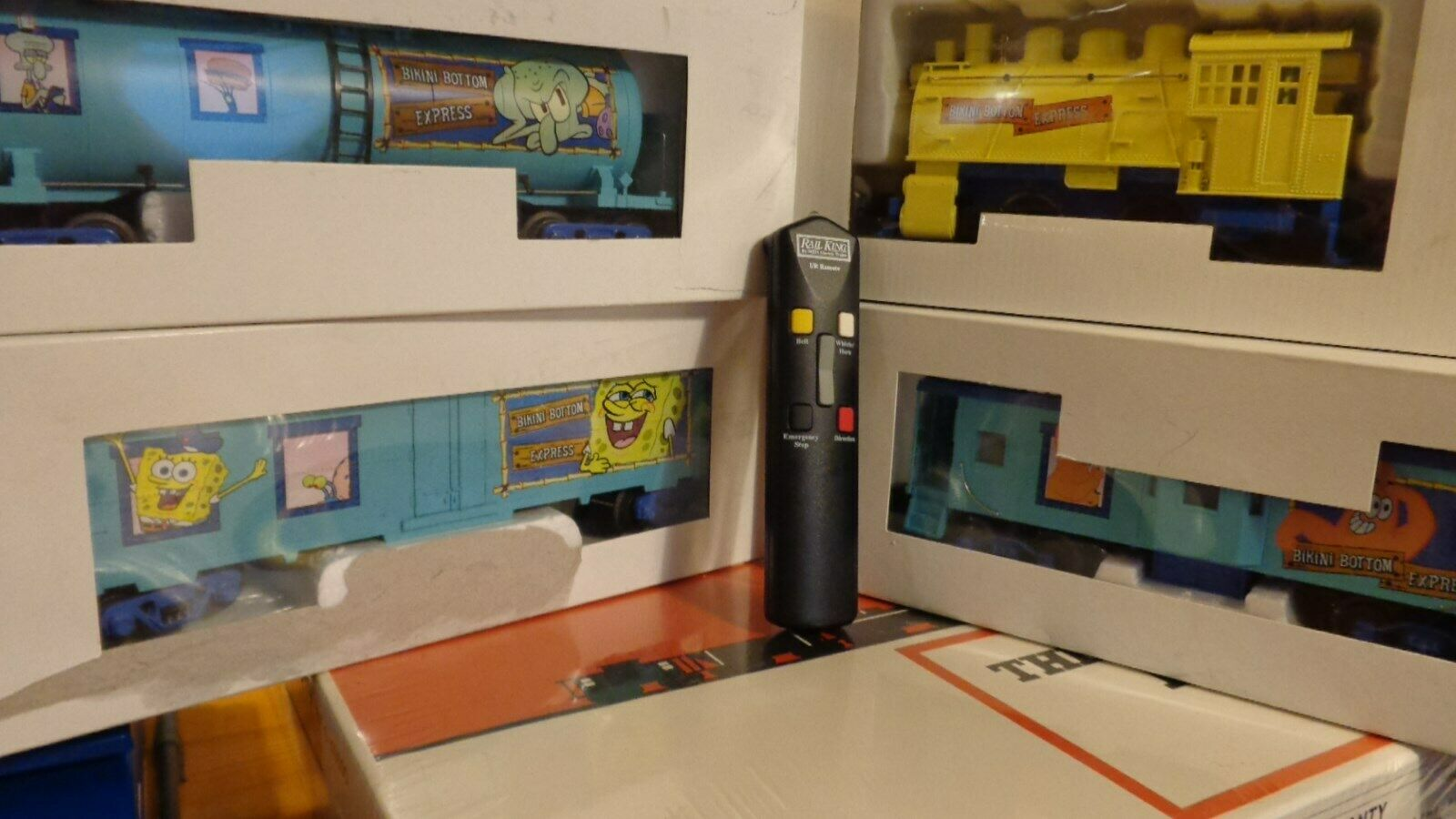 MTH Spongebob SquareHose 30-4118-0E 30-4118A 30-4118B 30-4118C w  remote