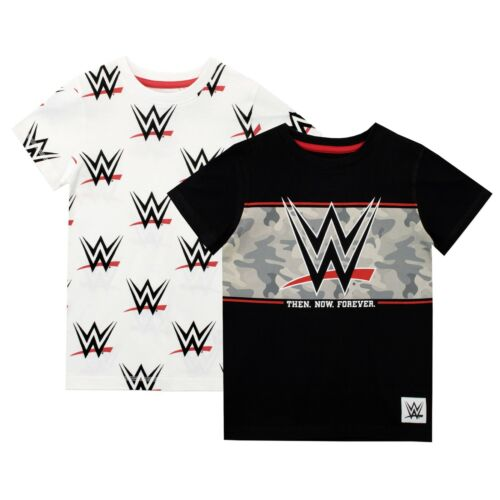 Kids WWE Two Pack T-ShirtWorld Wrestling Entertainment Top Pack of Two