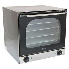 FORNO convezione elettrico commerciale di cottura in acciaio INOX Plus 4 VASSOI DI COTTURA