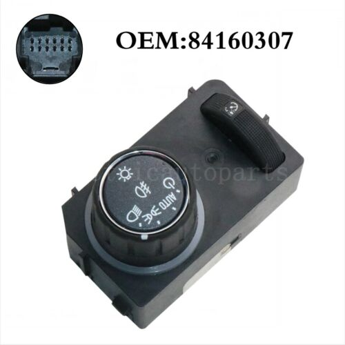 OEM Headlight Lamp Switch 84160307 For 2015-2018 Chevrolet Colorado GMC Canyon