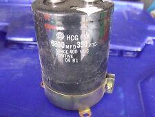 Hitach HCG F5A Capacitor 350VDC Surge 400VDC 6800MFD