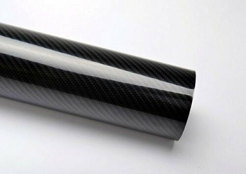 4D 13€//m² Carbon Folie 4D Hochglanz Folie Optik sehr ähnlich Echt Carbon