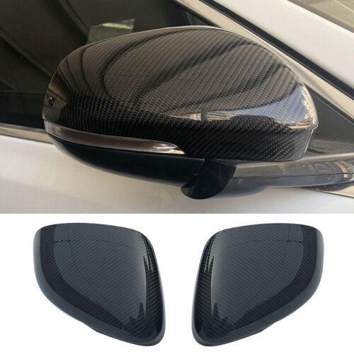 Auto Kkohlefaser Seiten Spiegel Abdeckungen Kappe für Jaguar XE XK XF XJ 2012-18