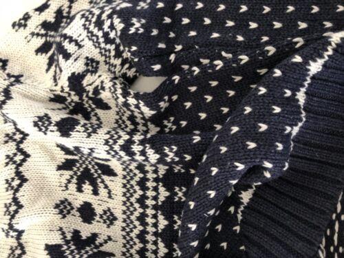 NEW Boys Kids Children 100/% Cotton Navy Knit Knitwear Tops Sweater Jumpers 2-8YR