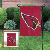 Arizona Cardinals Applique And Embroidered Mini Garden/window Flag