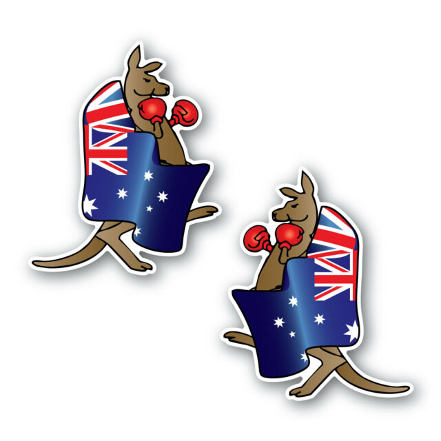 Kangaroo Vinyl Decal Sticker Car Truck Laptop Window A1