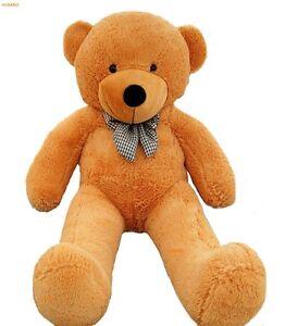 Huge Teddy Bear Giant 6ft 200cm Big Stuffed Animal Jumbo Toy