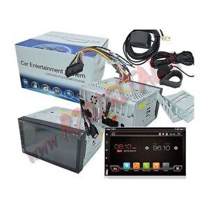 2 din radio de voiture avec android cran tactile bluetooth st r o wifi dvd ebay. Black Bedroom Furniture Sets. Home Design Ideas