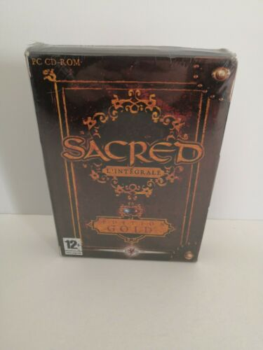 Sacred L Integrale Gold Edition Avec 2 Extensions Jeu Game Pc Neuf New