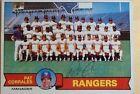 1979 Topps Rangers Team #499 Baseball Card