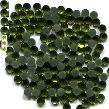 Rhinestones  PERIDOT  2mm 6ss Hot Fix 1 gross  144 pc