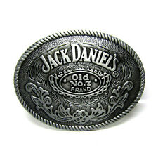Oval Jack Daniels Belt Buckle Collectable Whiskey Old No.7 Brand Vintage Unisex