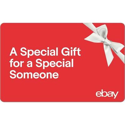 A Special Gift -  eBay Digital Gift Card - $25 to $200 - Fast Email Delivery