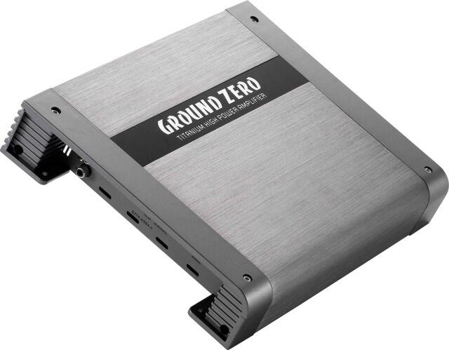 Ground Zero Gzta 2155x-ii 2 Canales Vehículo Amplificador Auto-Endstufe