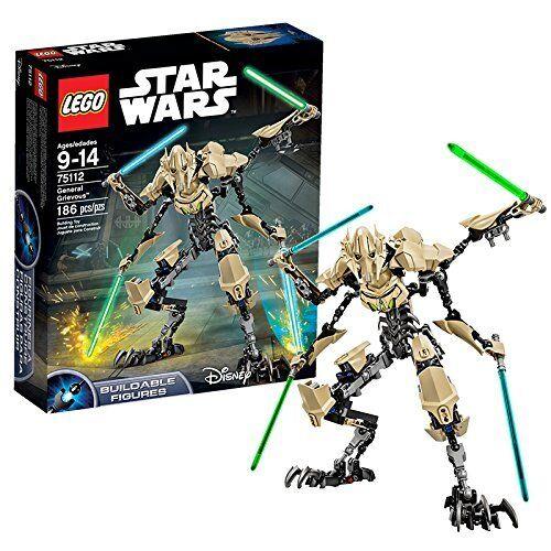 LEGO STAR WARS 75112: generale Grievous costruzione Fun kids NUOVO di zecca Gratis P&P