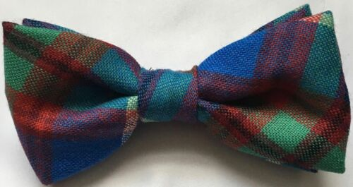 Made in Scotland Gents Scottish Clan Self-Tie Bow Tie In Various Tartans