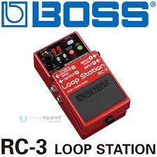 Boss RC-3 Loop Station Looper USB Pedal Stompbox