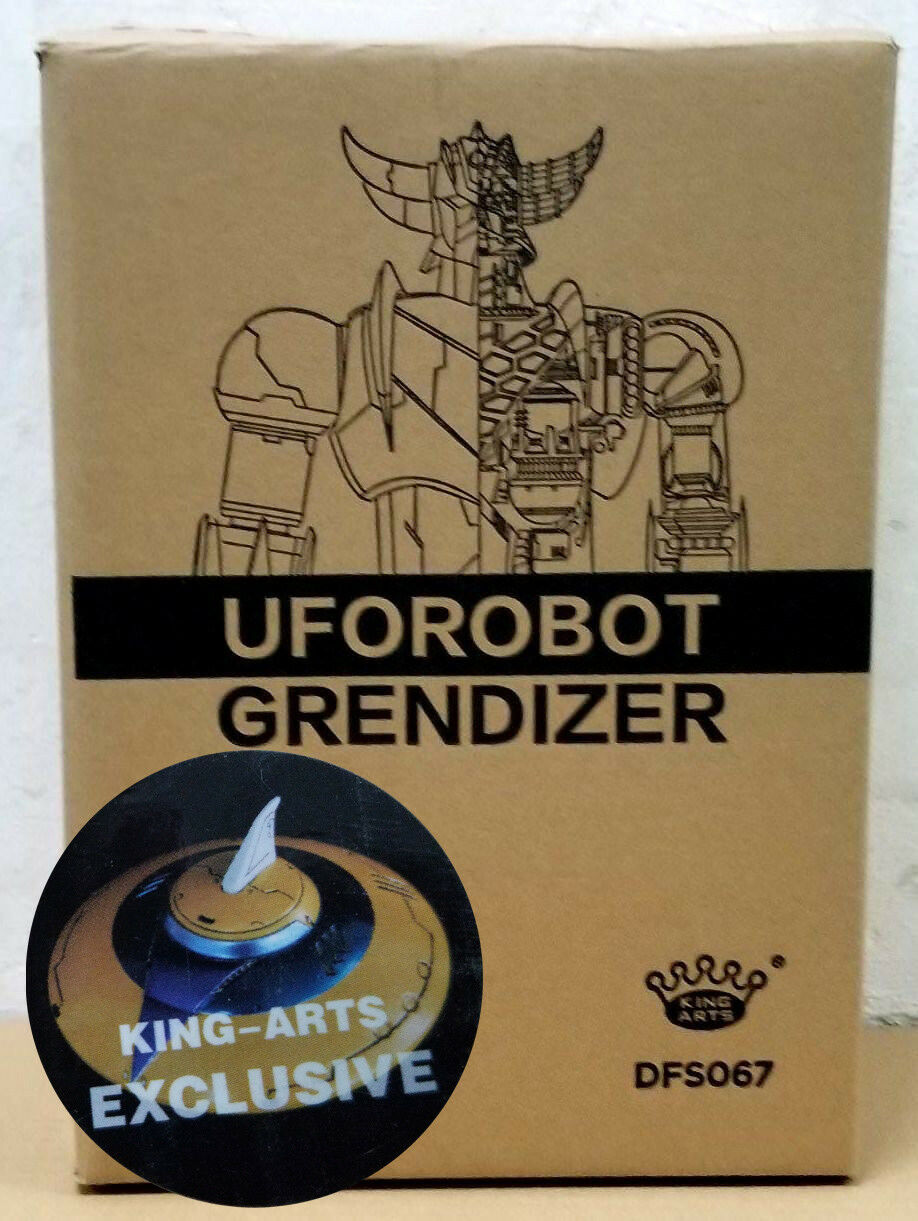 KING ARTS DFS067 UForoBOT GRENDIZER VIP EDITION EDITION EDITION with UFO DIECAST ACTION FIGURE 11e71d