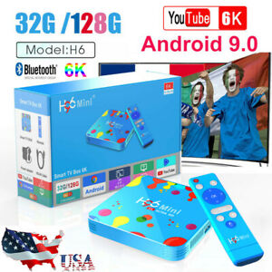 H96 Mini 4GB+128GB Android 9.0 Quad Core TV Box 4K HD Media Player Allwinner H6 Featured