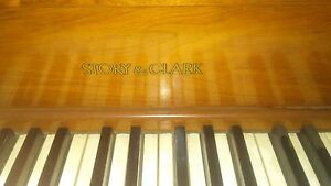 Image Is Loading Story Amp Clark Spinet Piano Needs Tuning And