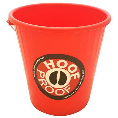 5 Lt Hoof Proof Calf//multi Purpose Bucket Red Calfmulti x Size