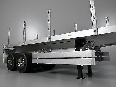 "Aluminum Tool Box Lid Tamiya /""TOY/"" R//C 1//14 Trailer Tanker Container King Hauler"