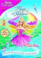 BARBIE FAIRYTOPIA MAGIC OF THE RAINBOW DVD New Sealed