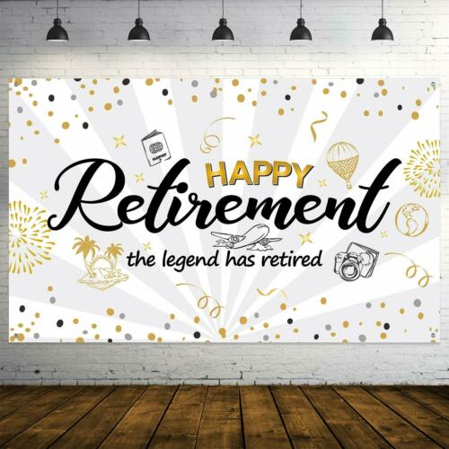 Home, Furniture & DIY Home & Garden Happy Retirement Party ...