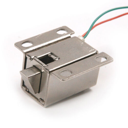 Aluminum Catch Push Lock S1203 Electric Solenoid Lock 12V 350mA ASS