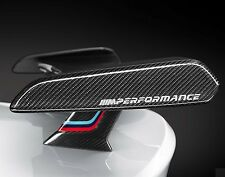 2 x BMW M PERFORMANCE Car VINYL STICKERS Bumper Window Spoiler JDM DECALS