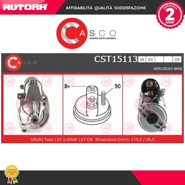 CST15113GS Motorino d'avviamento (MARCA-CASCO)