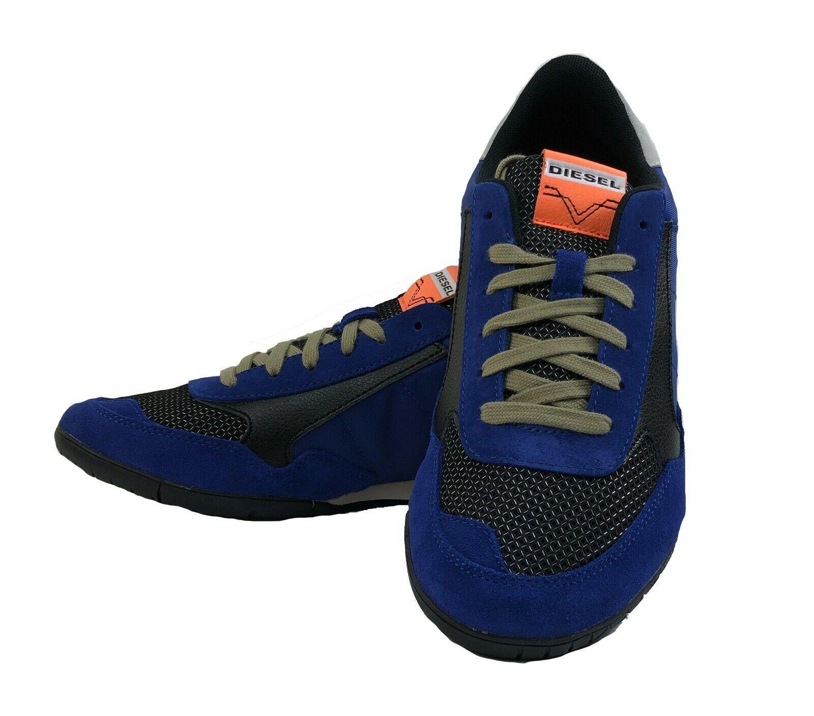 DIESEL Herren Turnschuhe Schuhe  S-TOCLAW  blau schwarz