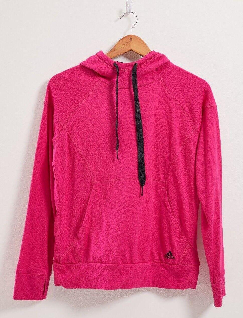 Adidas női kapucnis rózsaszínű poliészter