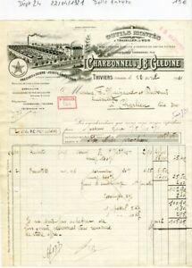 Dept-24-Thiviers-Belle-Entete-Manufacture-d-039-Outillage-du-22-04-1921