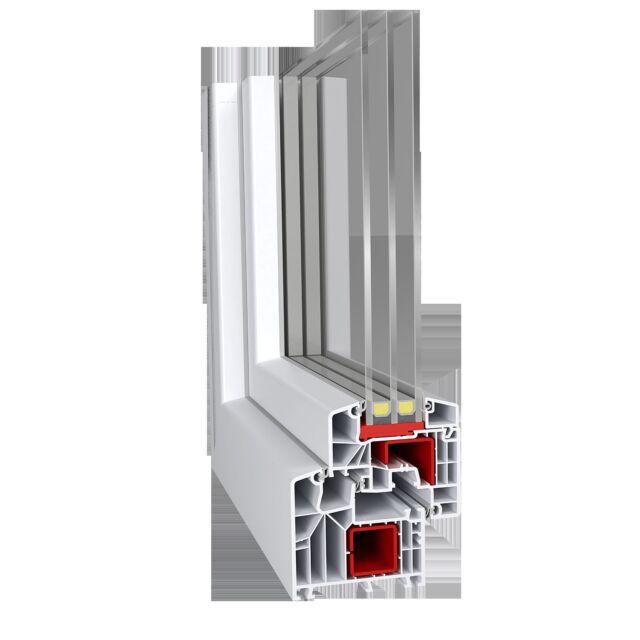 100 Stück 425-150 mm lang Eindrehanker passend zu Aluplast IDEAL 2000-8000