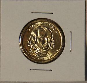 Uncirculated BU 2007 James Madison Presidential D Dollars