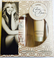CELINE DION ALL FOR LOVE DEODORANT SPRAY 75ML  AND BODY LOTION 75ML SET CREAM