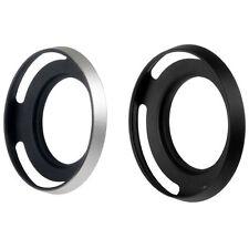 40.5mm Metal Pierced Vented Lens Hood Sunshade Sony NEX-5R 5T 3N E16-50 Nikon J1