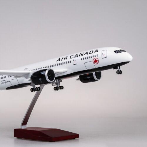 43CM 1:130 AIR CANADA BOEING 787 Passenger Airplane Landing gear Resin Model