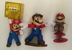 Lot-of-3-Super-Mario-Bros-Brothers-2-4-034-Mario-Toy-Action-Figures