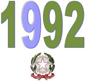 ITALIA-Repubblica-1992-Singolo-Annata-Completa-integri-MNH-Tutte-le-emissioni