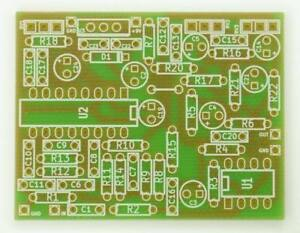 deep blue delay pcb for diy guitar effect pedal pt2399 ebay. Black Bedroom Furniture Sets. Home Design Ideas