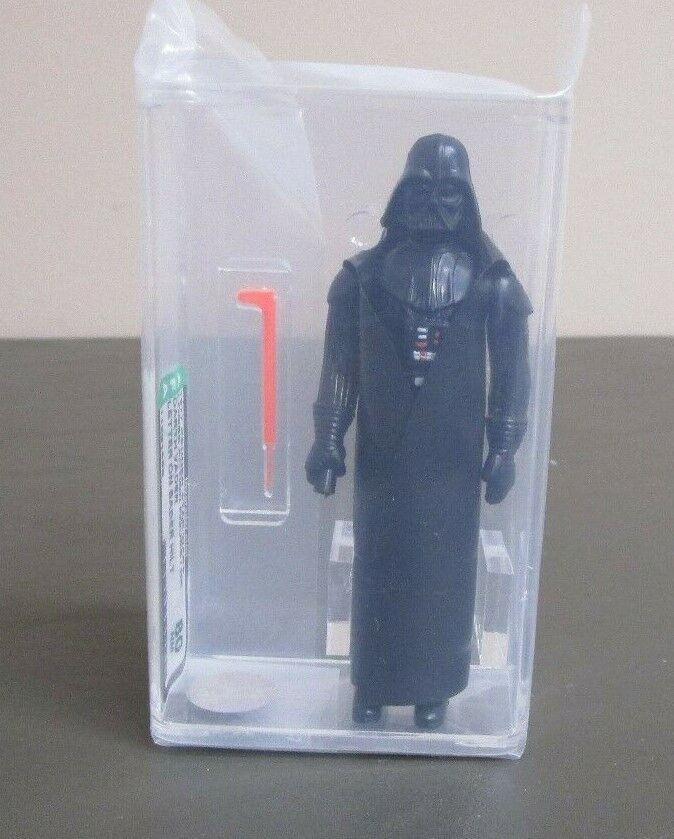 Darth Vader 1977 STAR WARS Graded AFA 80 NM HK Letter on Hilt JJ New Case