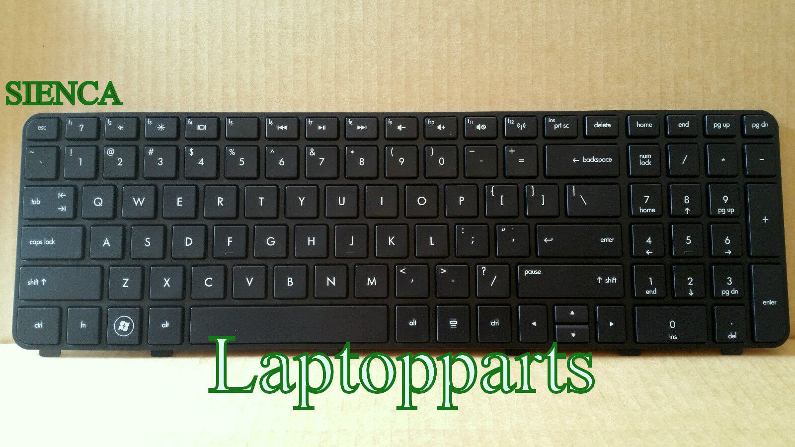 New Genuine HP Pavilion DV6 DV6-6000 Keyboard With Frame 665326-001 634139-001