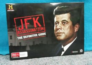 THE-HISTORY-CHANNEL-JFK-ASSASSINATION-THE-DEFINITIVE-GUIDE-DVD-REGION-4-PAL