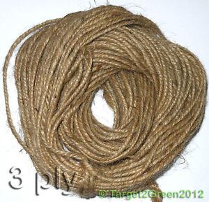 Strong-Natural-Brown-Rustic-Jute-Burlap-Hessian-Twine-Sisal-String