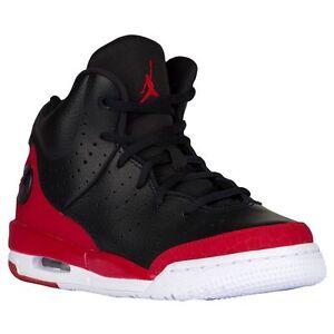 0403b20cdab6 819473-001 Nike Air Jordan Flight Tradition (GS) Black White-Gym Red ...