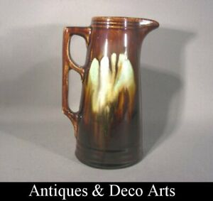 Art-Deco-Vaas-Kan-van-Thulin-Vase-Cruche-Faience-Art-Deco-de-Thulin
